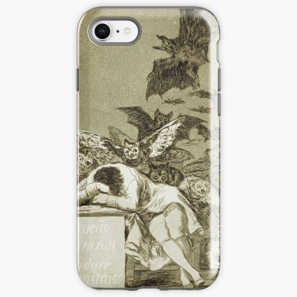 Francisco Goya - The Sleep Of Reason Produces Monsters iPhone Tough Case
