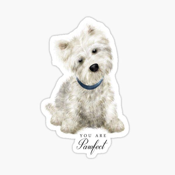 Pawfect Westie Sticker