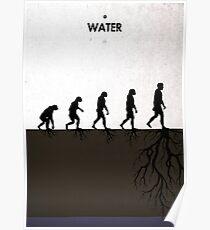 99 Steps of Progress - Water Poster