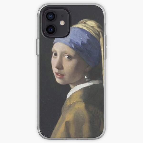 Johannes Vermeer - The Girl With A Pearl Earring iPhone Soft Case