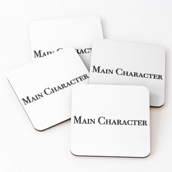 main character Coasters (Set of 4)