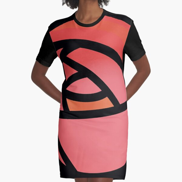 Charles Mackintosh Rose Graphic T-Shirt Dress