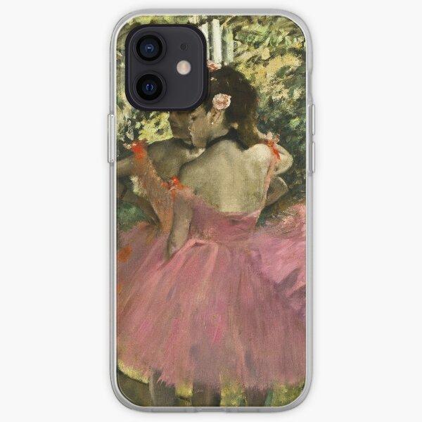 Edgar Degas - Dancers In Pink iPhone Soft Case