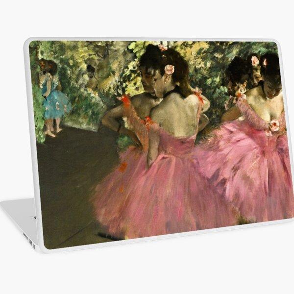 Edgar Degas - Dancers In Pink Laptop Skin