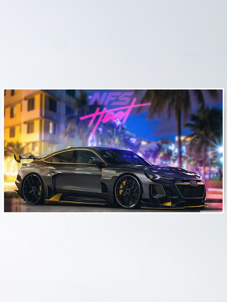 Need For Speed Heat Wallpaper Gaming Poster By Pasu979 Redbubble