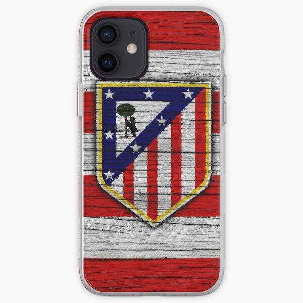 Atletico Madrid Funda blanda para iPhone