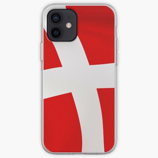Dannebrog Danish flag flag Denmark iPhone Soft Case