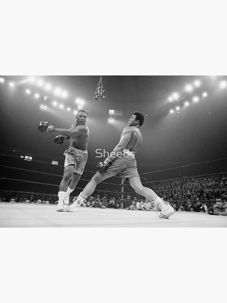 Muhammad Ali vs. Joe Frazier by Sheeds