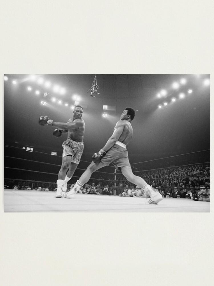 Alternate view of Muhammad Ali vs. Joe Frazier Photographic Print