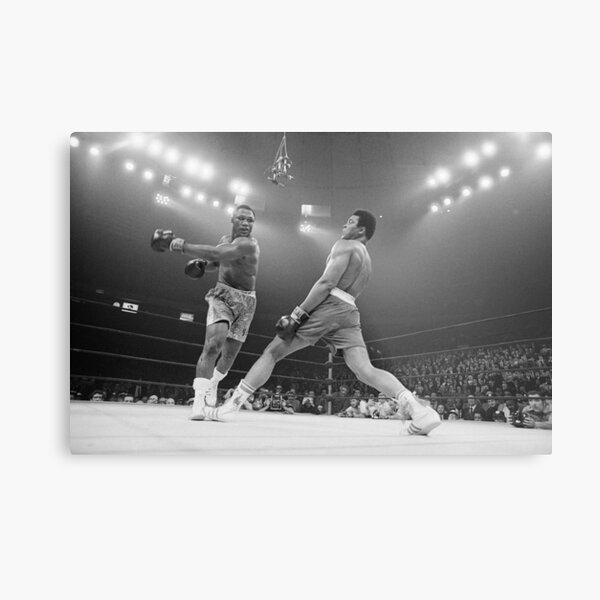 Muhammad Ali vs. Joe Frazier Metal Print