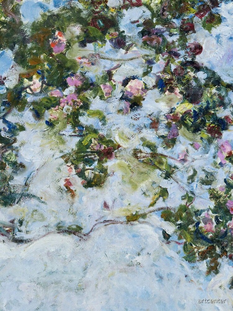 Claude Monet - Roses (Les Roses) by artcenter