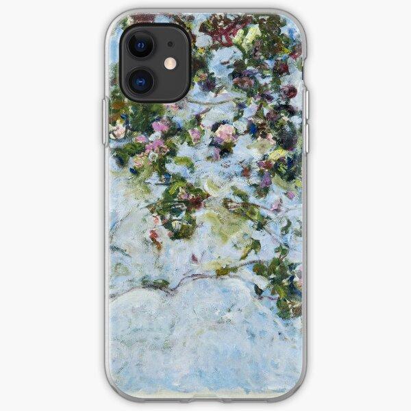 Claude Monet - Roses (Les Roses) iPhone Soft Case