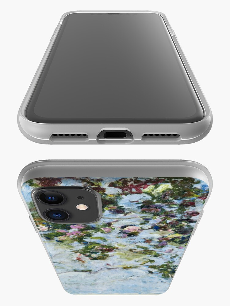 Alternate view of Claude Monet - Roses (Les Roses) iPhone Case & Cover
