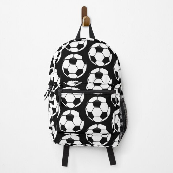 Soccer Ball Football Sports On Shirts And Gadgets Backpack