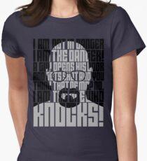 Heisenberg is the danger Women's Fitted T-Shirt
