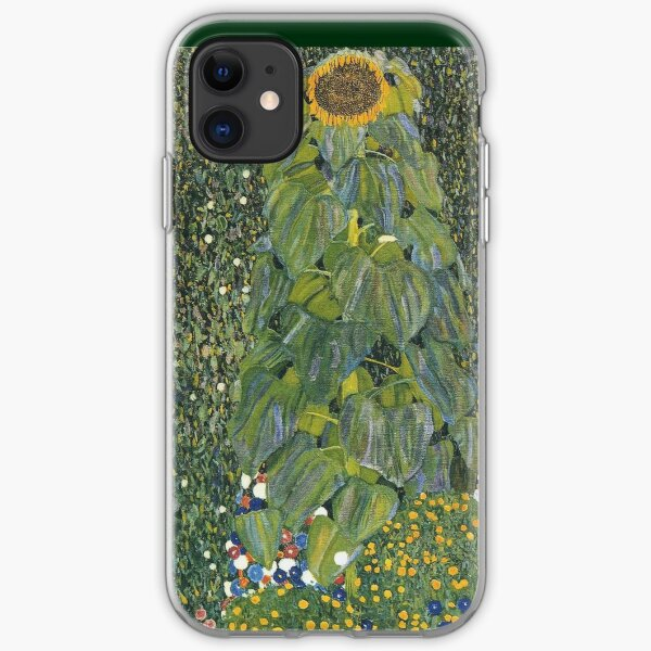 Gustav Klimt - The Sunflower 1907 iPhone Soft Case