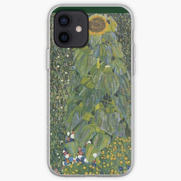 Gustav Klimt - The Sunflower 1907 iPhone Soft Case