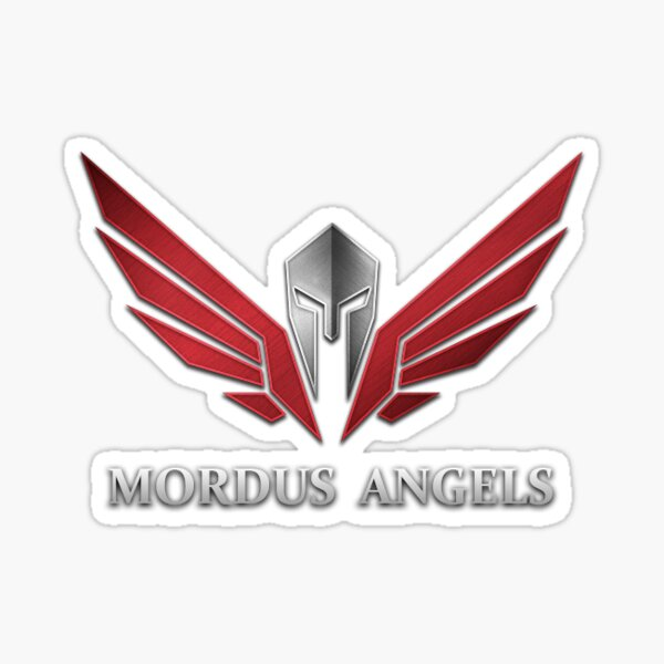 Mordus Engel Sticker