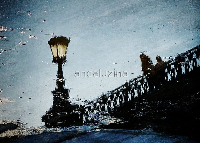 Blue mirror by andaluzina