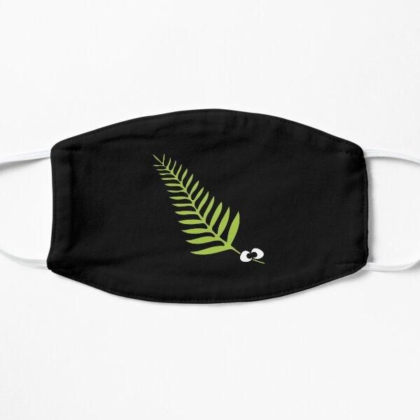 Fern Cartoon I love New Zealand Mask