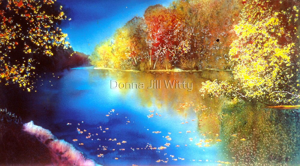 St. Joe River by Donna Jill Witty