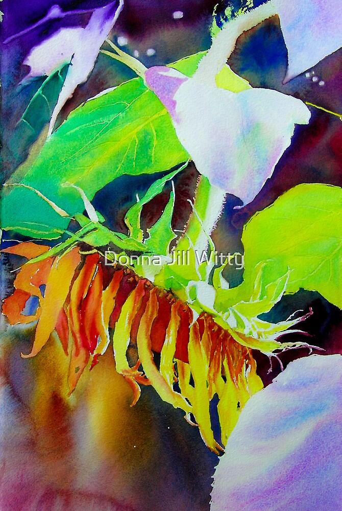 Sunflower by Donna Jill Witty