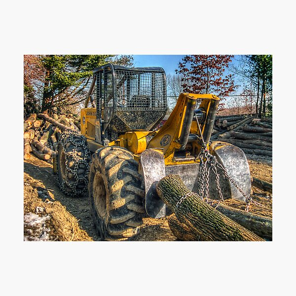 Cable Skidder (detail) February 2007 Photographic Print