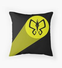 Monarch Signal! Throw Pillow