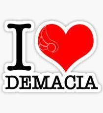 I <3 Demacia Sticker