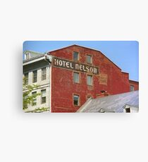 Montreal - Hotel Nelson Canvas Print