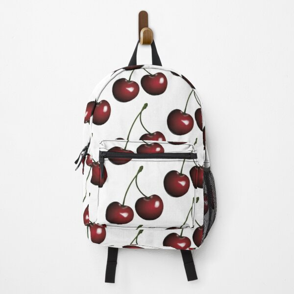 Cherry Fruit Pop Art On Shirts Bags Gadgets And Home Decor Backpack