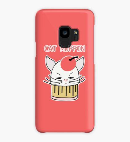 Cat Muffin Case/Skin for Samsung Galaxy