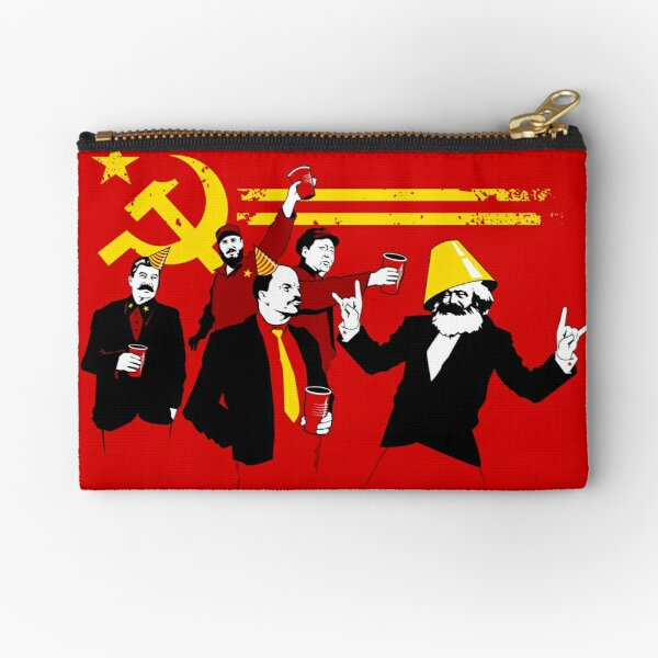 The Communist Party (original) Zipper Pouch