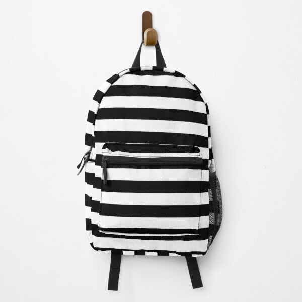 Black Stripes Picasso Sailor On Shirts Bags And Home Decor Backpack
