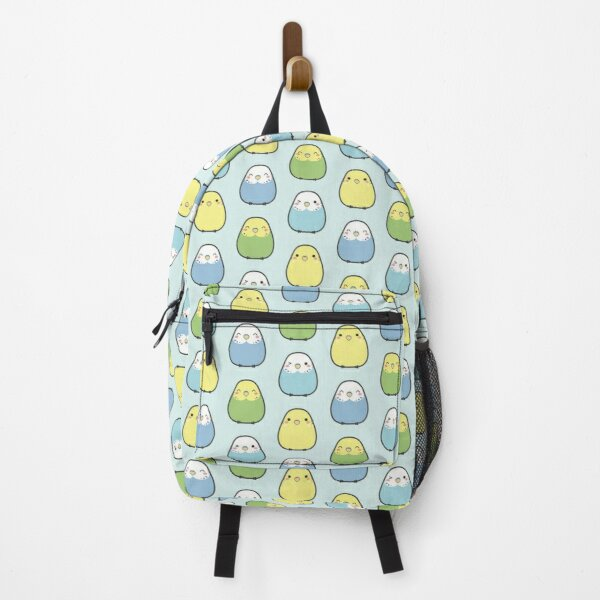 Fluffy Budgies Backpack