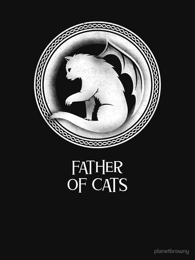 Father of cats von planetbrowny