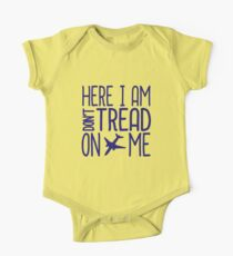 HERE I AM DON'T TREAD ON ME One Piece - Short Sleeve