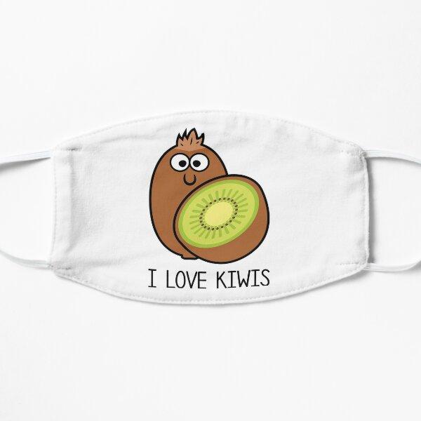Cartoon I love Kiwis Mask