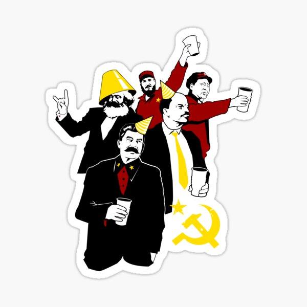 The Communist Party (variant) Sticker