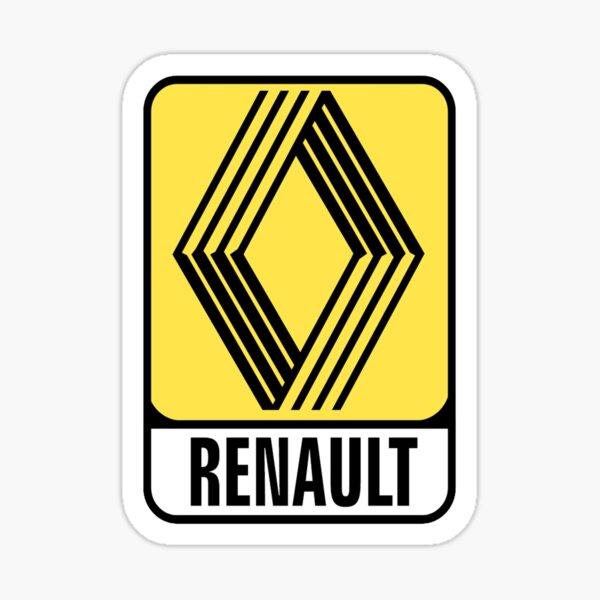 RENAULT LOGO 1972 Sticker