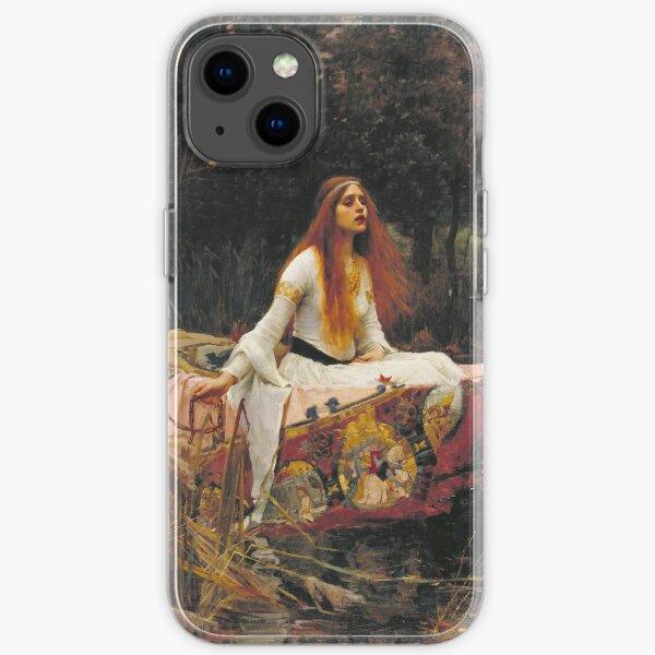 John William Waterhouse - The Lady Of Shalott 1888 iPhone Soft Case