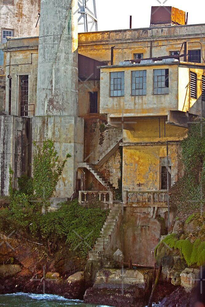 Alcatraz Prison - Wardens Landing - San Francisco by Buckwhite