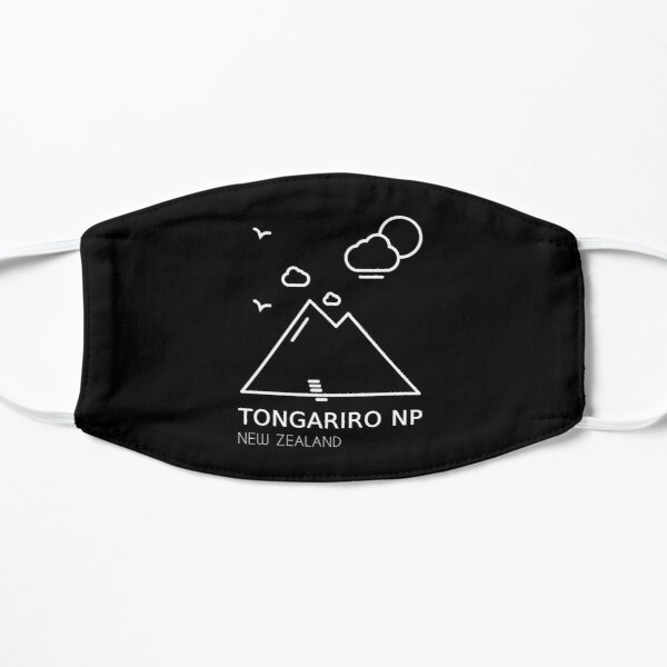 Tongariro Crossing National Park New Zealand Mask