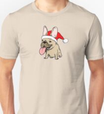 Frenchie Clause French Bulldog Unisex T-Shirt
