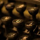 Typewriter by Adam Northam
