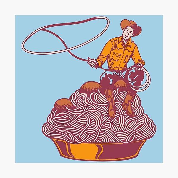 Spaghetti Western Photographic Print