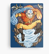 Avatar of the Air Nomads Metal Print