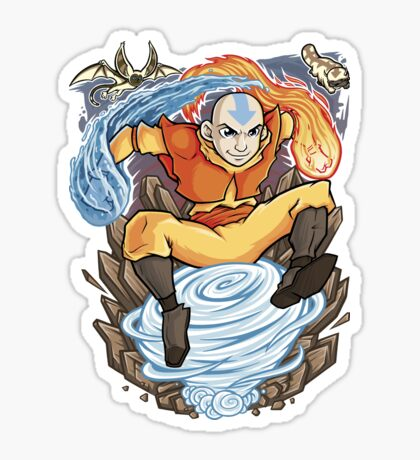 Avatar of the Air Nomads Sticker