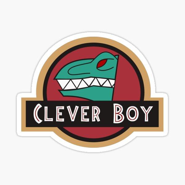 Kyoryu Green - Clever Boy Sticker