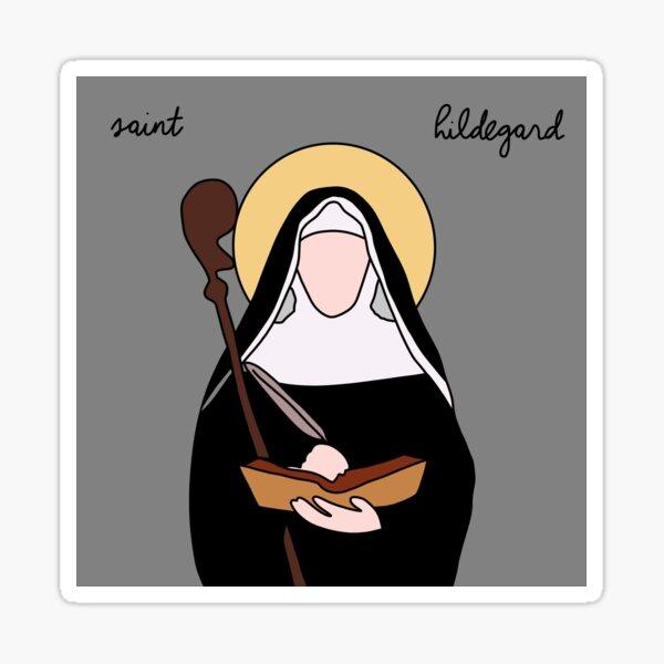 Saint Hildegard Sticker